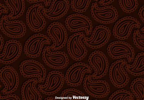 paisley brown background   vector art stock