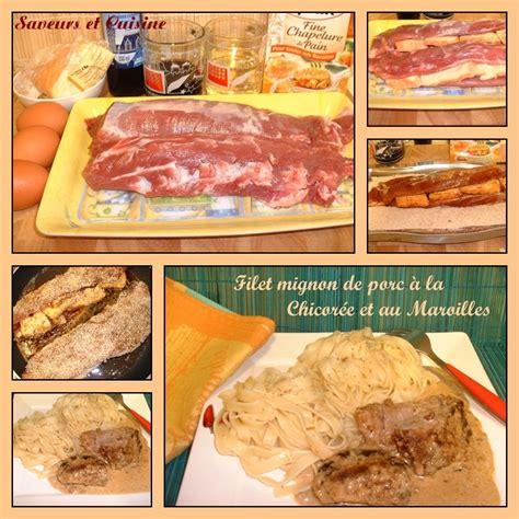 cuisiner du filet mignon de porc filet mignon de porc pané farci au maroilles et sa sauce