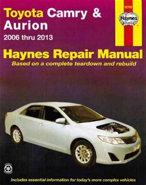 manual repair free 2007 toyota camry hybrid windshield wipe control toyota camry aurion 2006 2013 haynes owners service
