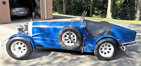 1927 Bugatti Type 35b Replica/kit Car For Sale