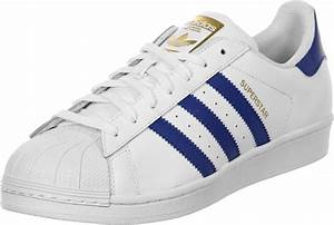 Adidas Superstar Foundation Shoes White Blue