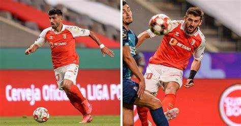 Join the discussion or compare with others! Paulinho e Esgaio, do SC Braga, no melhor onze da Liga