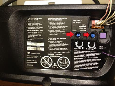 adjusting sears garage door opener liftmaster garage door opener 1 2 hp troubleshooting wageuzi
