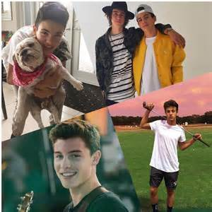Nash Grier and Cameron Dallas Shawn Mendes