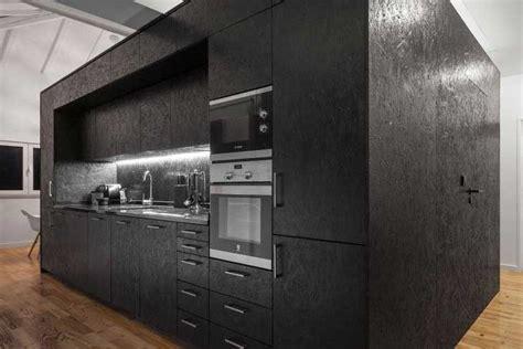 aménagement cuisine d été le panneau osb et utilisation en déco intérieure