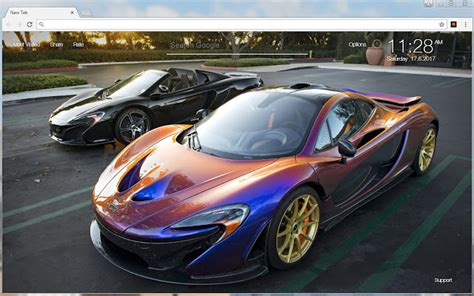 Blue Gold Cool Car Wallpapers by Mclaren Wallpaper Hd Sports Cars Theme Hd Wallpapers