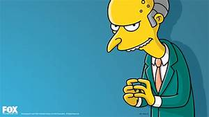 TV Show The Simpsons Mr. Burns Wallpaper