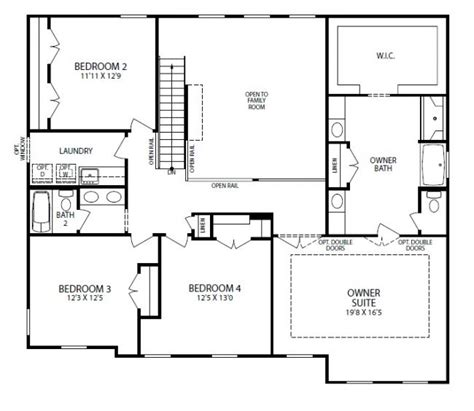 new home floorplan zelienople pa truman in old hickory