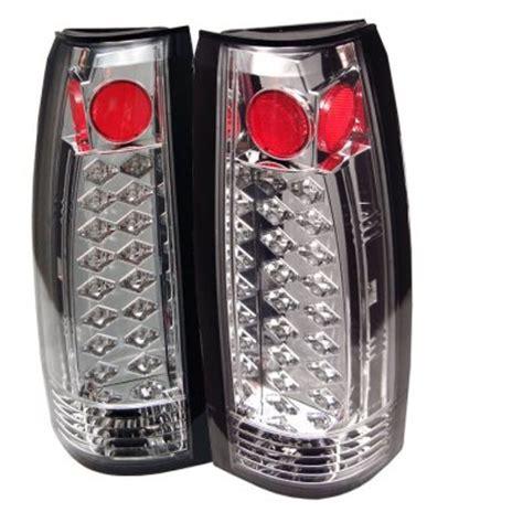 1996 chevy silverado tail lights chevy silverado 1988 1998 clear led tail lights