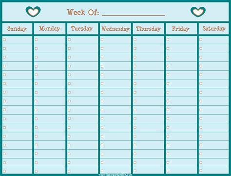 free weekly calendar template 3 free printable weekly calendar 2014 ganttchart template