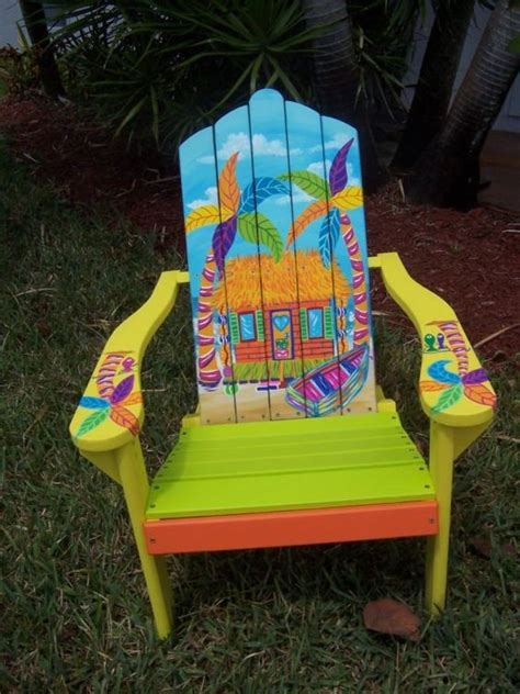Custom Painted Margaritaville Adirondack Chairs 13 Of The Most Unique Adirondack Chairs You Can Find On