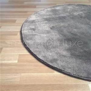 tapis rond sur mesure large choix de couleurs et de With tapis rond gris clair