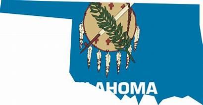 Oklahoma Flag Map American Native Texas Historical