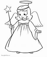 Coloring Pages Angel Adults Popular sketch template