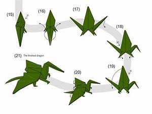 Neat Origami Dragon Instructions  If You Decide To Do This