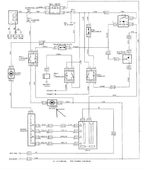 Isuzu Rodeo Schematic by A 1999 Isuzu Rodeo Ls With Ac Problem Taken To
