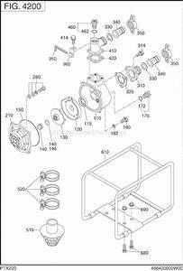 Subaru    Robin Ptx220s0350 Parts List And Diagram
