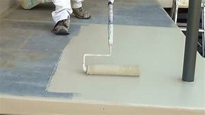 How to paint a concrete floor step by step guide on how for Can i paint a concrete floor