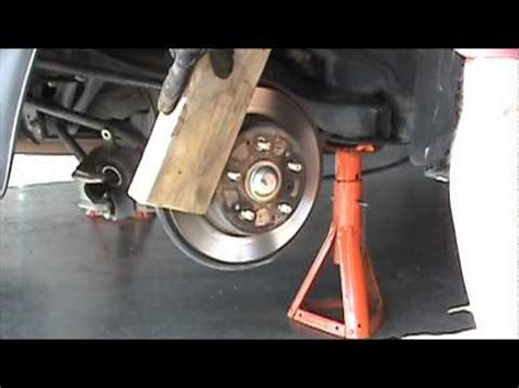 acura tl  type rear brake job part  youtube