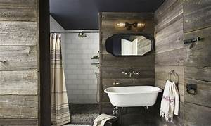 Style campagne chic moderne 24 interieurs design for Salle de bain design avec campagne décoration magazine