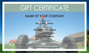 Design Your Own Gift Card Free Lawn Care Gift Certificate Templates Easy To Use Gift