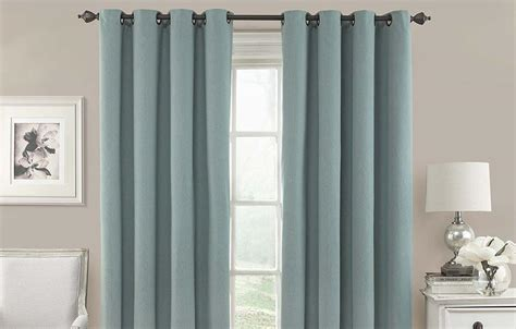 These Blackout Curtains Keep Out Light, Noise And Save Energy Dark Red Patterned Curtains Beach Scene Fabric Shower Black White And Living Room Target Shabby Chic How To Hang Outdoor Curtain Rods Put Up Rod Bracket 108 Inches Sheer Inch Panel Pair