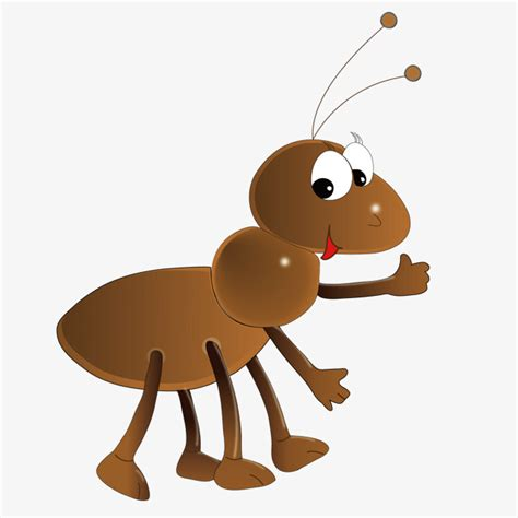 Cute Ants, Lovely, Ant, Cartoon PNG and Vector for Free