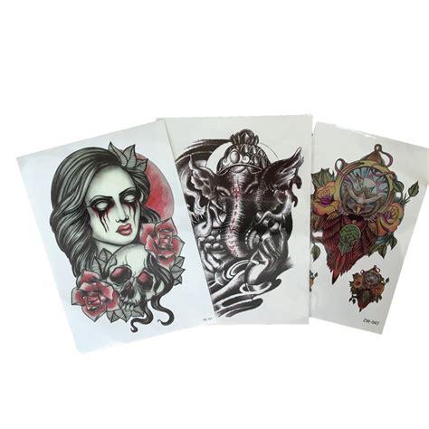 autocollants de tatouage bras promotion achetez des