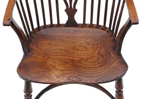 Windsor Armchair Chair Hall Side Dining Carver