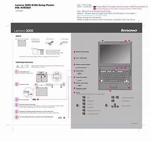 Lenovo 3000 N100 Users Manual 41w2821 1