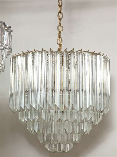 five tier prism chandelier by camer at 1stdibs
