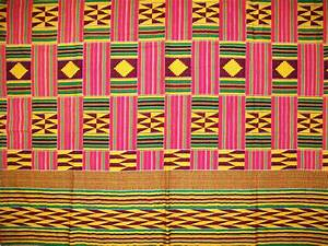 Kente Ghanaian textile is from Ghana, a country located in ...
