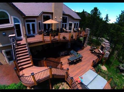 Backyard Decks Ideas by Outdoor Patio Deck Designs Ideas
