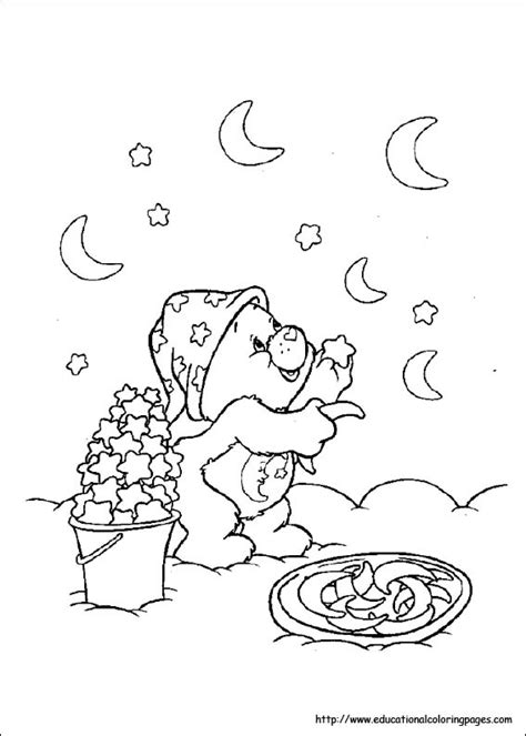 carebears coloring pages   kids