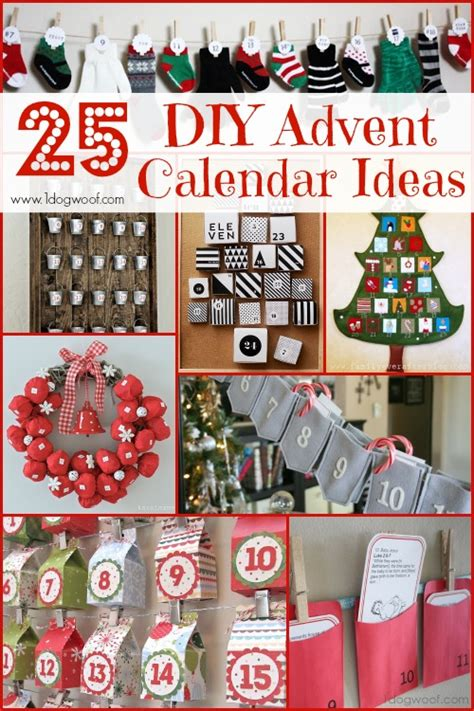 diy advent calendar ideas 25 diy christmas advent calendar ideas one dog woof