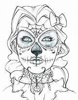 Skull Crossbones Coloring Pages Printable Getcolorings sketch template