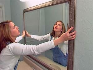 how to install a bathroom mirror how tos diy With how to install a bathroom mirror