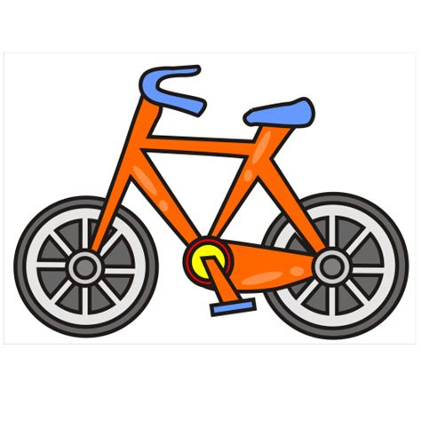 Bicycle Clip Bike Clipart Pencil And In Color Bike Clipart