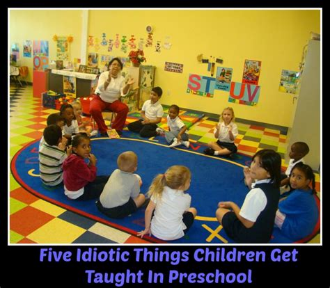5 things children learn in preschool that are a waste of 541 | 13366417 f1024