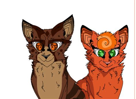 Brambleclaw And Squirrelflight By Bambinocheeno On Deviantart