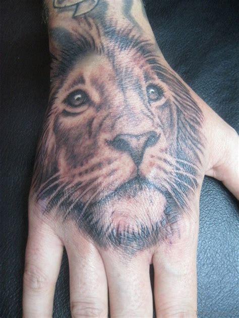 lion tattoos  hand