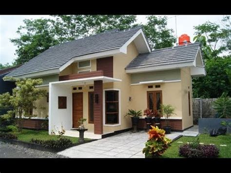 inspirasi model rumah sederhana cantik  youtube