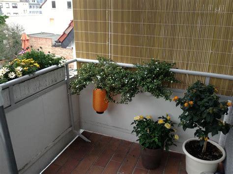 Seitlicher Sichtschutz Am Balkon Selbstde