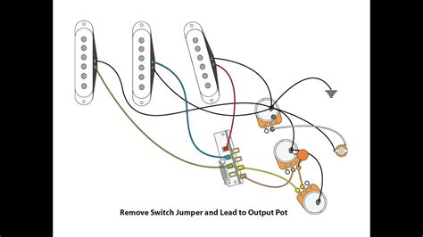 Vintage Style Wiring For Stratocaster Youtube