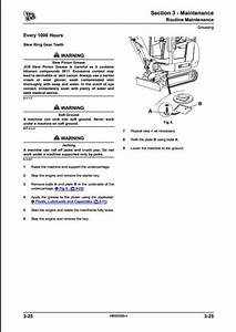 Jcb 8014 8016 8018 8020 Mini Excavator Service Repair Manual