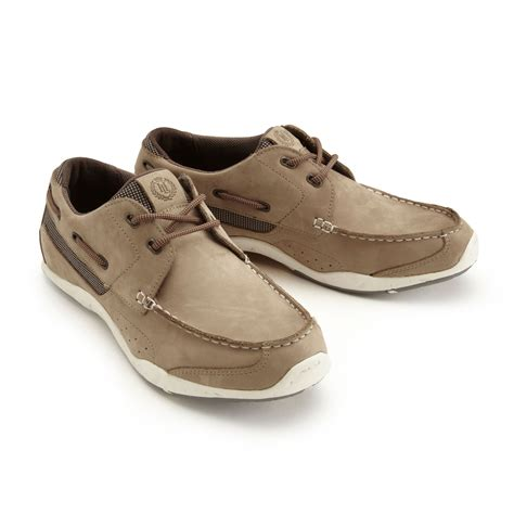 Brown Deck Shoes by Henri Lloyd Valencia Leather Deck Shoes 2015 Brown