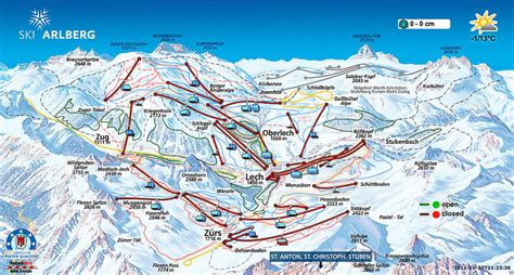 Lech Ski Resort Guide, Location Map & Lech ski holiday
