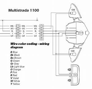 Ducati Multistrada 1100 Wiring Diagram