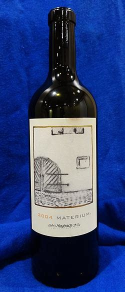 Review: 2004 Maybach Family Vineyard Cabernet Sauvignon