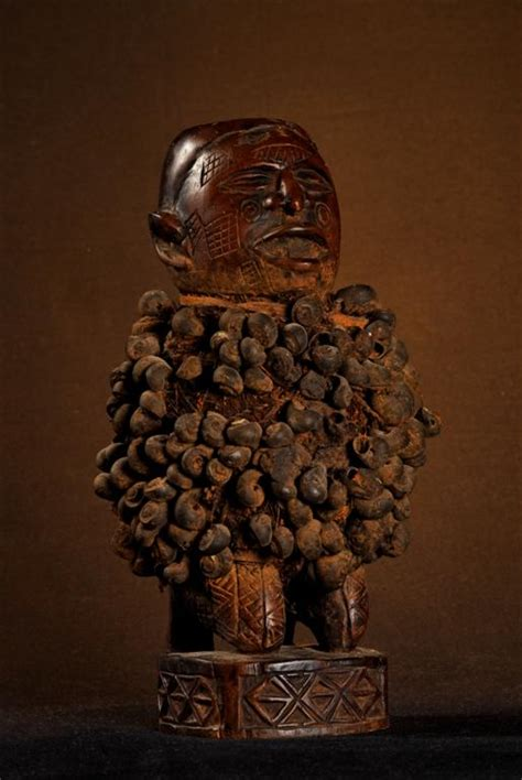 Statue/Statuette a charge magique - (Ba(Kongo), (ba)Teke ...